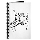 Z is for Zebra Journal