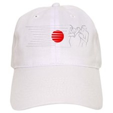 BoxingDesign JAPAN White Baseball Cap