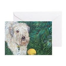 Mouse Wheaten Greeting Card