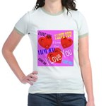 I Love You Jr. Ringer T-Shirt