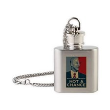 ron-paul-campaign Flask Necklace