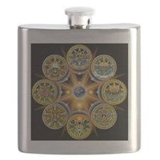 Witches Wheel of the Year Flask