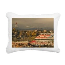 Calgary: Calgary Stamped Rectangular Canvas Pillow