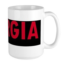 GeorgiaBlackAndRed Mug