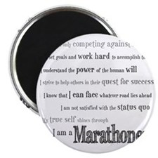 I Am a Marathoner Magnet