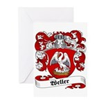 Weller Coat of Arms Greeting Cards (Pk of 10)