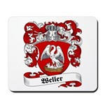 Weller Coat of Arms Mousepad