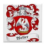 Weller Coat of Arms Tile Coaster