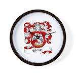 Weller Coat of Arms Wall Clock