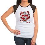 Weller Coat of Arms Women's Cap Sleeve T-Shirt