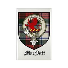 MacDuff Clan Crest Tartan Rectangle Magnet (10 pac