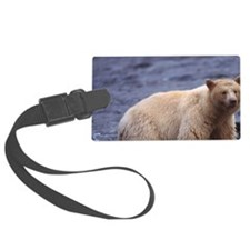 black bear Luggage Tag