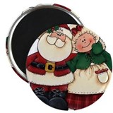 "Mr. & Mrs. Claus 2.25"" Magnet (100 pack)"