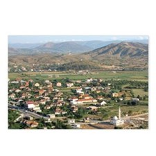 Shkodra. Landscape around Postcards (Package of 8)