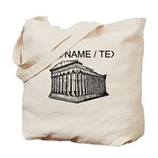 Custom Parthenon Tote Bag