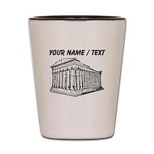 Custom Parthenon Shot Glass