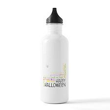 subway_halloween_light Water Bottle
