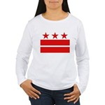 3 Stars 2 Bars Women's Long Sleeve T-Shirt