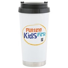 putting kids first Ceramic Travel Mug