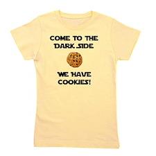 Dark Side Cookies Black Girl's Tee