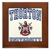 THORTON University Framed Tile
