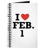 I Heart February 1 Journal