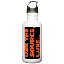 lukeorg copy Water Bottle