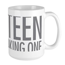 Simple Thirteen Point Freaking One Mug