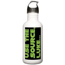 lukegreen copy Water Bottle