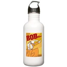 soviet bob poster copy Sports Water Bottle