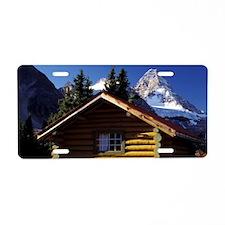 British Columbia. Mt. Assin Aluminum License Plate
