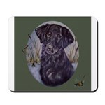 Flat Coated Retriever Mousepad