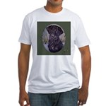 Flat Coated Retriever Fitted T-Shirt