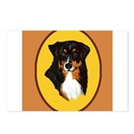 Australian Shepherd design Postcards (Package of 8