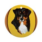 Australian Shepherd design Ornament (Round)