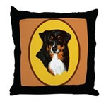 Australian Shepherd design Throw Pillow