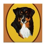 Australian Shepherd design Tile Coaster