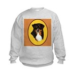 Australian Shepherd design Kids Sweatshirt