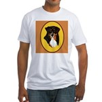 Australian Shepherd design Fitted T-Shirt