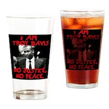 troy davis2 copy Drinking Glass