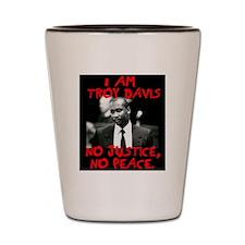 troy davis2 copy Shot Glass