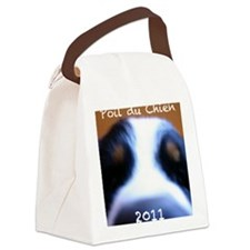 hair of dog front 1 Canvas Lunch Bag