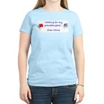 Waiting for my granddaughter. Women's Light T-Shir