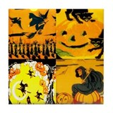 Cool Harvest Tile Coaster