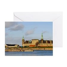 Helsingor. Kronoborg castle at the e Greeting Card