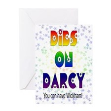 nook_darcy_dibs Greeting Card
