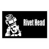 Small Rivethead Decal