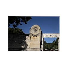 The main entrance of Cimetiere du Rectangle Magnet