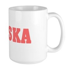 Girl out of alaska light Mug