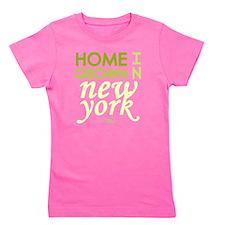 Home grown new york light Girl's Tee